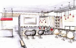 Aménagement intérieur d\'un restaurant à St Jean de Védas par ...