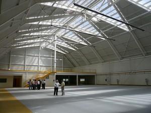 Hangar ecole au mus e de l 39 air et de l 39 espace par henneguier d 39 - Cout construction hangar ...