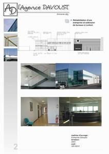 solorpec lorient par sarl l 39 agence davoust architectes d 39 architectures. Black Bedroom Furniture Sets. Home Design Ideas
