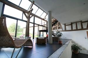 renovation d 39 une ferme type loft par meaude d 39 architectures. Black Bedroom Furniture Sets. Home Design Ideas