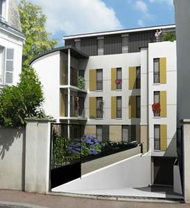 Rue de l ancienne mairie maisons laffitte par herve for Architecte maisons laffitte