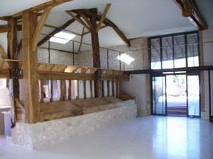 Rehabilitation D Une Grange En Maison D Habitation Par Atelier D