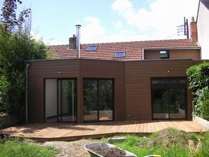 Extension et r novation d 39 une maison de ville nantes par - Extension maison de ville ...