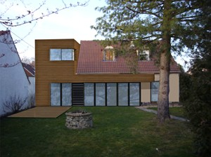 maison cologique par yann roinnel architecte d 39 architectures. Black Bedroom Furniture Sets. Home Design Ideas