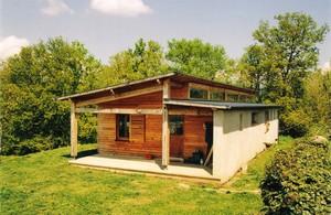 maison bioclimatique en bois lot 46 par dumolard d 39 architectures. Black Bedroom Furniture Sets. Home Design Ideas