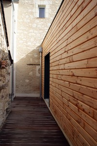 extension ossature bois d une maison ancienne par desarchitecture d 39 architectures. Black Bedroom Furniture Sets. Home Design Ideas
