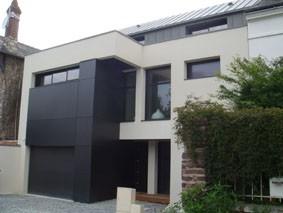 ville contemporaine maison de ville contemporain - Maison Moderne Ville