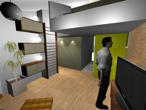 projet d 39 am nagement n 1 par cyril clement d 39 architectures. Black Bedroom Furniture Sets. Home Design Ideas