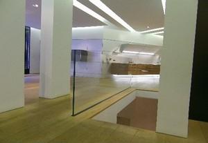 garde corps en verre fixation rail paris 6 me par. Black Bedroom Furniture Sets. Home Design Ideas