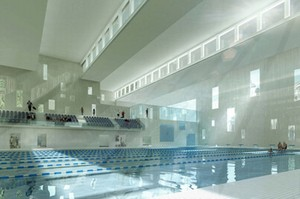 Piscine olympique de tourcoing par mikou design studio d for Construction piscine olympique aubervilliers
