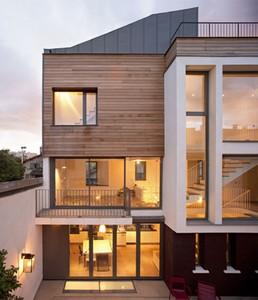 maison de ville montrouge par atelier d architecture alexandre dreyss d 39 architectures. Black Bedroom Furniture Sets. Home Design Ideas