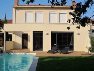 Extension d 39 une maison de ville par terradas d 39 architectures for Extension maison ville