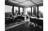 Le plafond lumineux du Seagram Building, New York, Mies Van Der Rohe et Philip Johnson architects - Crédit photo : ESTO -