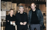 Muccia Prada, Joseph Abram et Rem Koolhaas - Crédit photo : BERGERET   Gaston