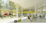 Projet de l'Atelier Barani pour le Learning Center de Paris Saclay - Crédit photo : Atelier Marc Barani -