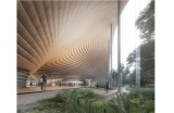 Kengo Kuma and Associates (5e prix) - Crédit photo : dr -