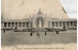 Le Grand Palais de l'Exposition coloniale de 1906 - Crédit photo : dr -