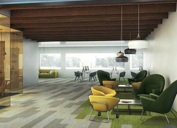 Lames de moquette d 39 architectures for Moquette restaurant