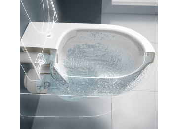 La nouvelle g n ration de cuvettes wc de villeroy boch for Wc gain de place villeroy et boch