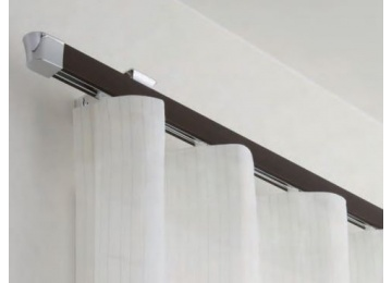 tringle a rideaux rail plat. Black Bedroom Furniture Sets. Home Design Ideas