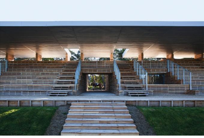 Requalification de l hippodrome du grand parquet for Architecte fontainebleau