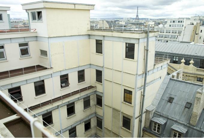 transformation d 39 un immeuble industriel en bureaux paris ixe d 39 architectures. Black Bedroom Furniture Sets. Home Design Ideas