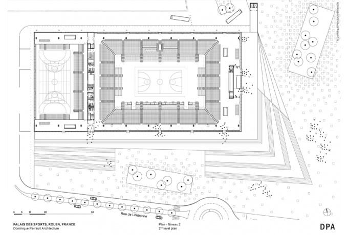 le kindarena rouen d 39 architectures. Black Bedroom Furniture Sets. Home Design Ideas