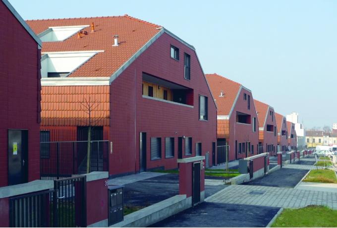 6 maisonn es cit jardin du chemin vert reims d for Architecte nom