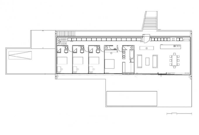 plan maison en longueur interesting plan etage with plan maison en longueur interesting plan. Black Bedroom Furniture Sets. Home Design Ideas
