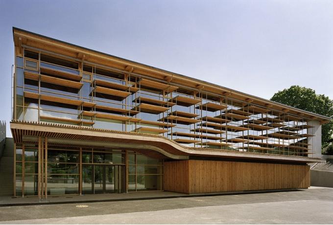 gymnase saint martin en haut d 39 architectures. Black Bedroom Furniture Sets. Home Design Ideas