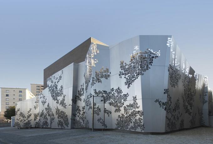 Maison des associations des chutes lavie marseille d 39 architectures for Architecture dinterieur marseille