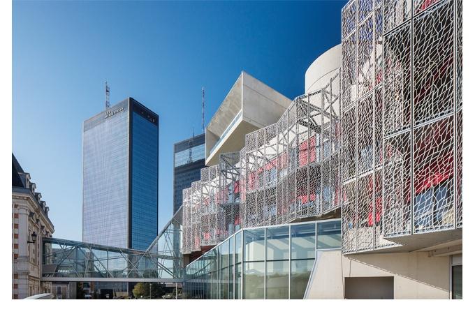 H tel de ville de bagnolet 93 d 39 architectures for Piscine de bagnolet