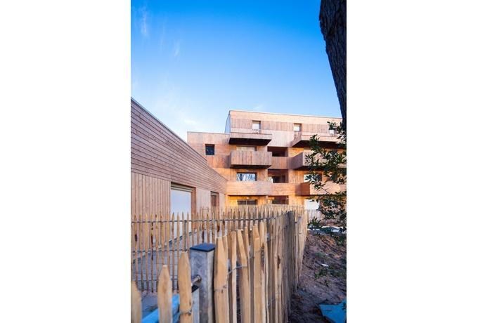 20 logements collectifs saint marc sur mer d 39 architectures for Iss espace vert