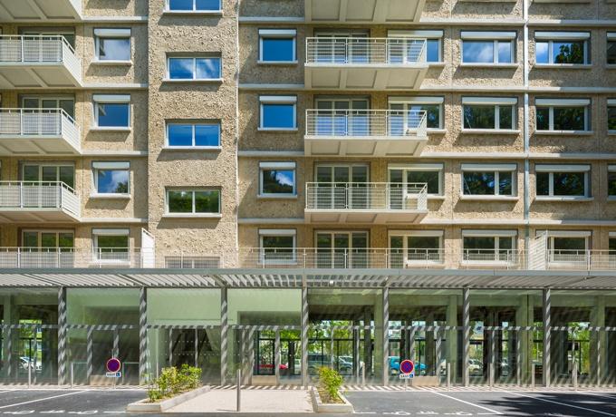 Réhabilitation Du Groupe Du0027immeuble Dit « Village De La Faisanderie » à  Fontainebleau Crédit Photo : GRAZIA Sergio