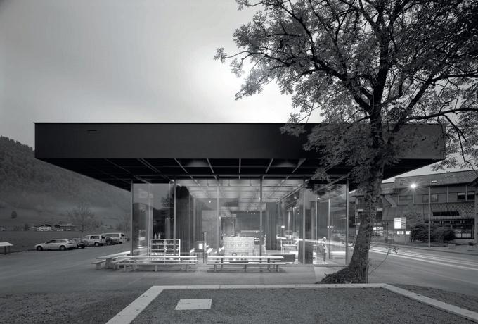 La Maison De LArtisanat Du Bregenzerwald  Andelsbuch  DArchitectures
