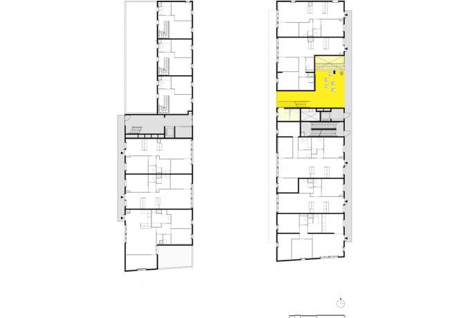 Sophie Delhay 53 logements et espaces partagés, lille (59) - d'architectures
