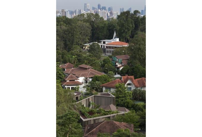 Maison Paravent à Singapour Darchitectures - La maison du paravent