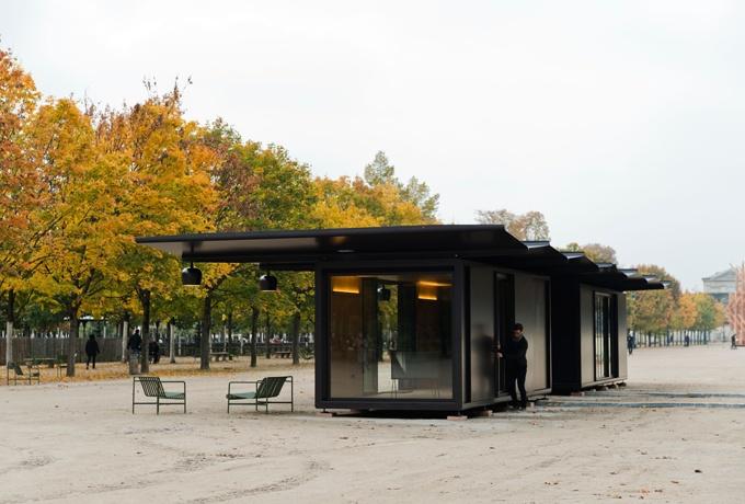Le kiosque ronan et erwan bouroullec d 39 architectures for Jardin informatique