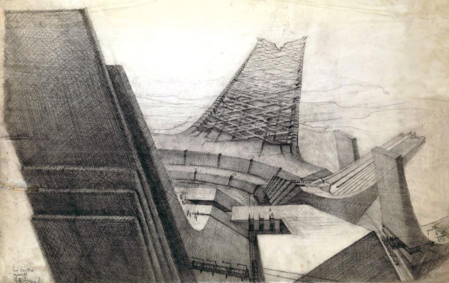 Claude parent entre dans sa l gende d 39 architectures for Architecture oblique