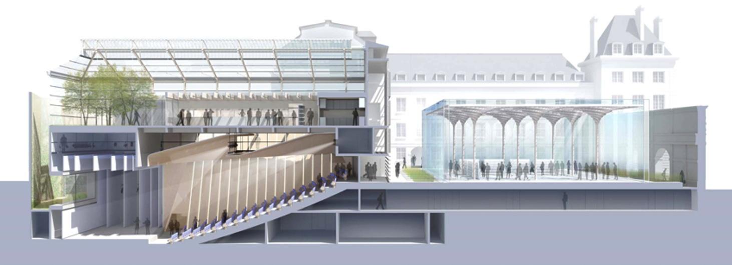 Continuit discontinuit quatre propositions pour l for Architecture concours