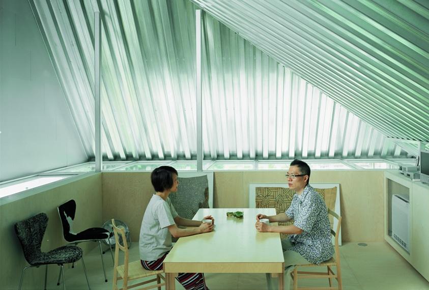 Maison gae setagaya ku tokyo 2003 crédit photo atelier bow