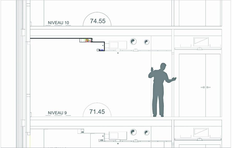 deux tours en une illumination de la tour zamansky. Black Bedroom Furniture Sets. Home Design Ideas